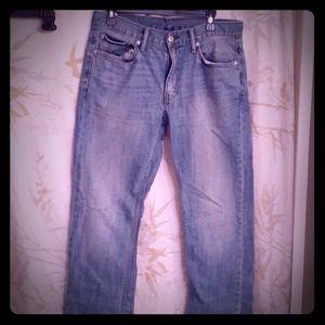 Men's Levi 514 jeans size 32 x 34